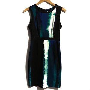 Calvin Klein Sleeveless Curve Hugging Dress